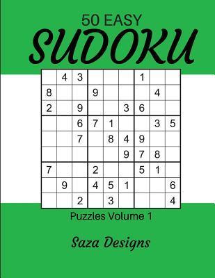 50 Easy Sudoku Puzzles Volume 1