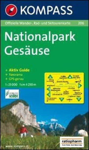 Carta escursionistica n. 202. Austria. Ad est delle Alpi. Vienna, Stiria... Nationalpark gesäuse 1