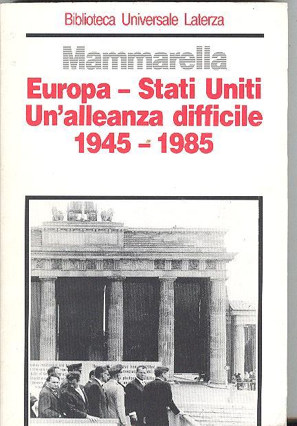 Europa-Stati Uniti