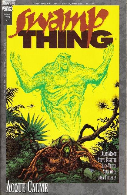 Swamp Thing n. 5