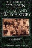 The Oxford Companion to Local and Family History
