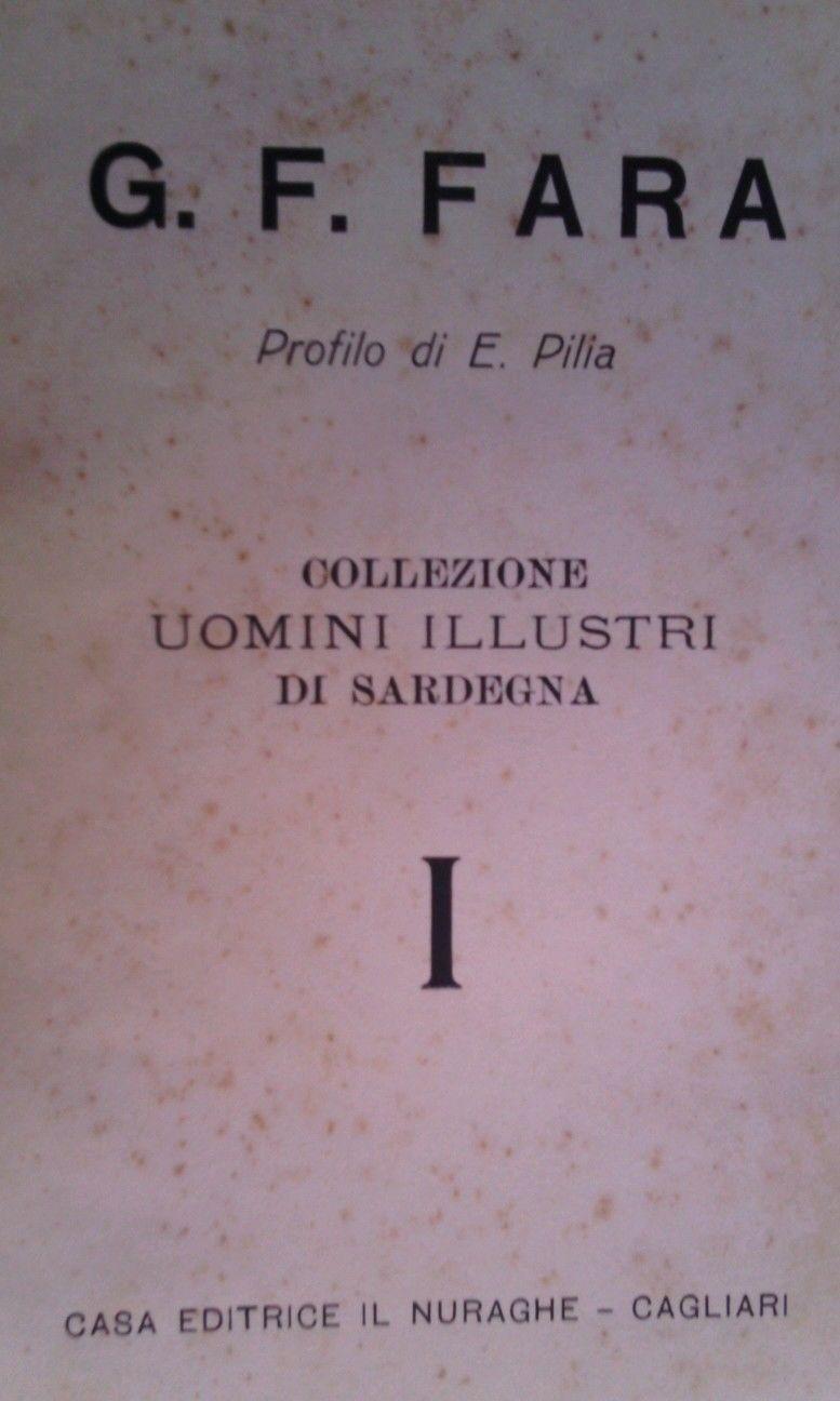 Gian Francesco Fara e l'origine della storiografia sarda