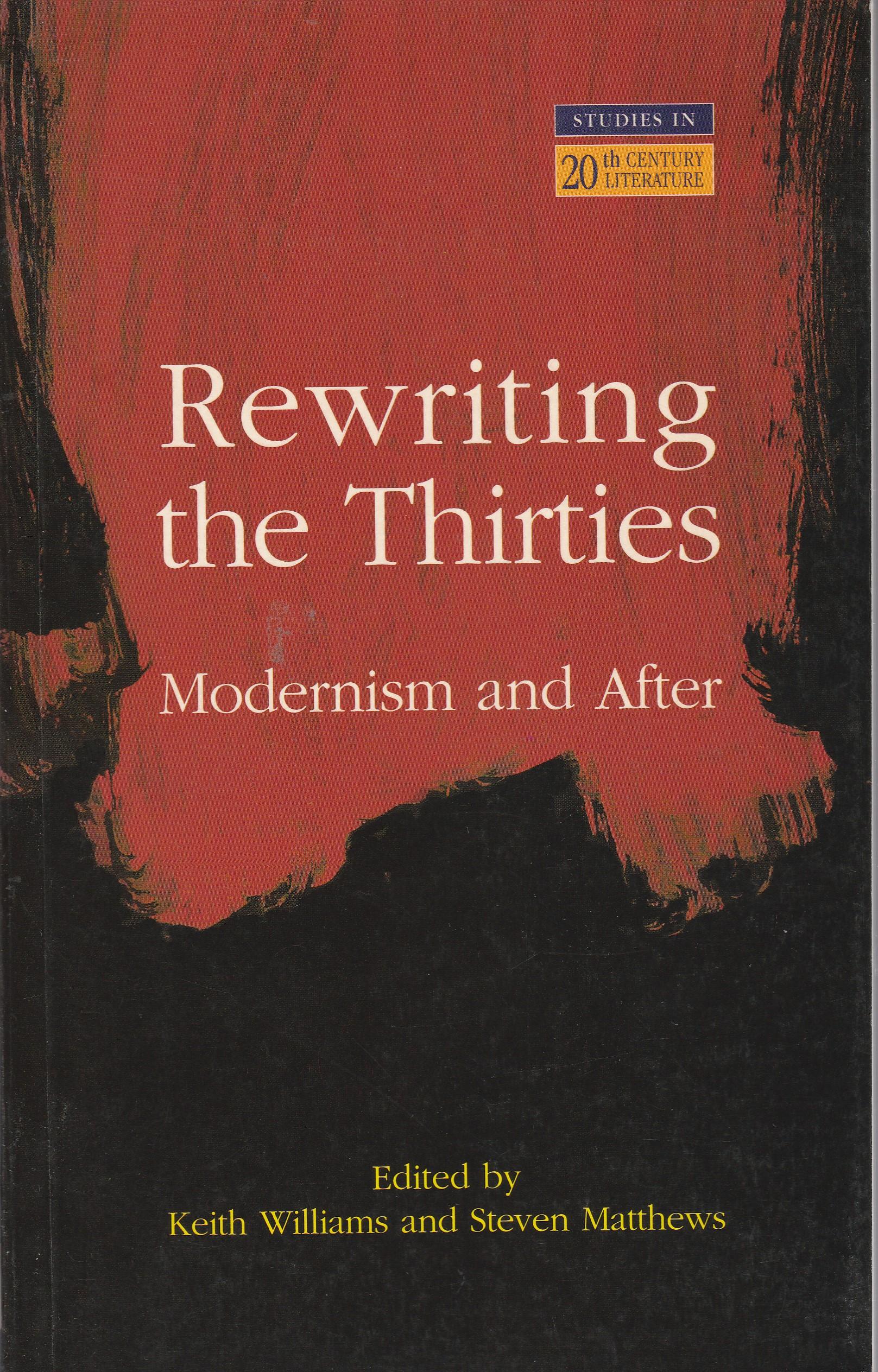 Rewriting the Thirties