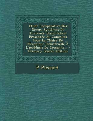 Etude Comparative Des Divers Systemes de Turbines