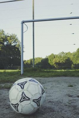 Soccer Ball and Goal Journal