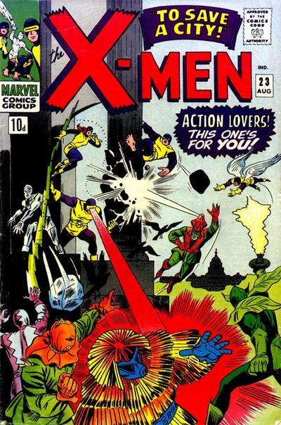 The X-Men Vol.1 #23