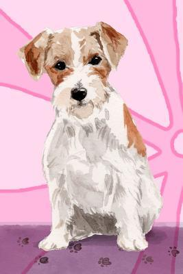 Bullet Journal Notebook For Dog Lovers, Jack Russell Terrier Sitting Pretty 3