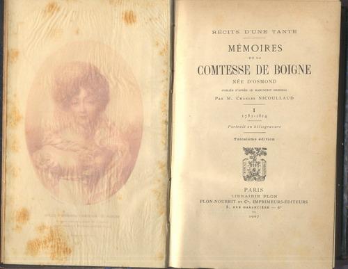 Mémoires de la comtesse de Boigne, née d'Osmond