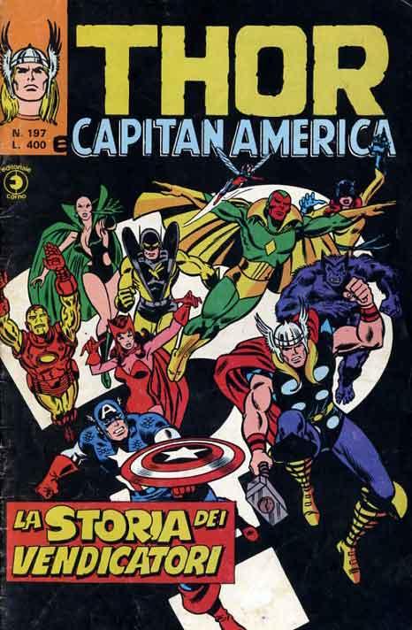 Thor e Capitan America (Il Mitico Thor) n. 197