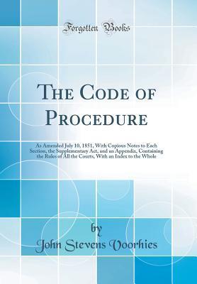 The Code of Procedure