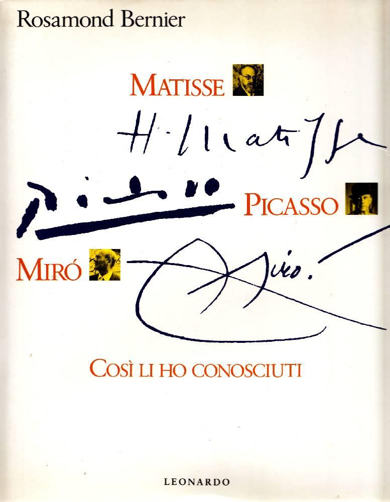 Matisse, Picasso, Mirò
