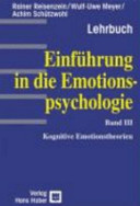 Kognitive Emotionstheorien