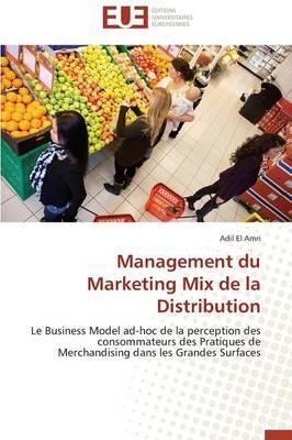 Management du Marketing Mix de la Distribution