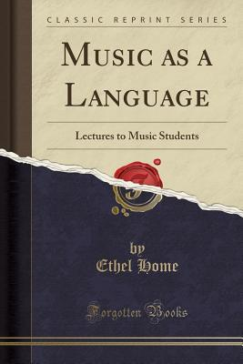 Music as a Language