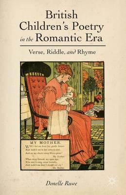 British Children's Poetry in the Romantic Era