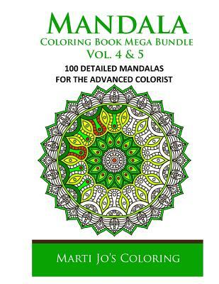 Mandala Adult Coloring Book Bundle