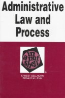 Admin Law&Proc in Nutshell