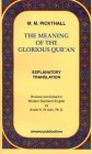 The Meaning of the Glorious Qur'an