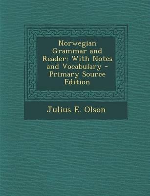 Norwegian Grammar and Reader
