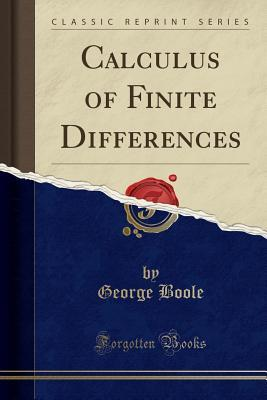 Calculus of Finite Differences Fourth