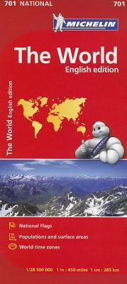Michelin The World / Michelin Le Monde
