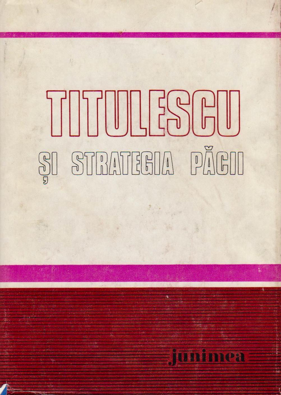 Titulescu şi strate...