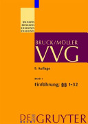 Einführung; §§ 1-32 VVG