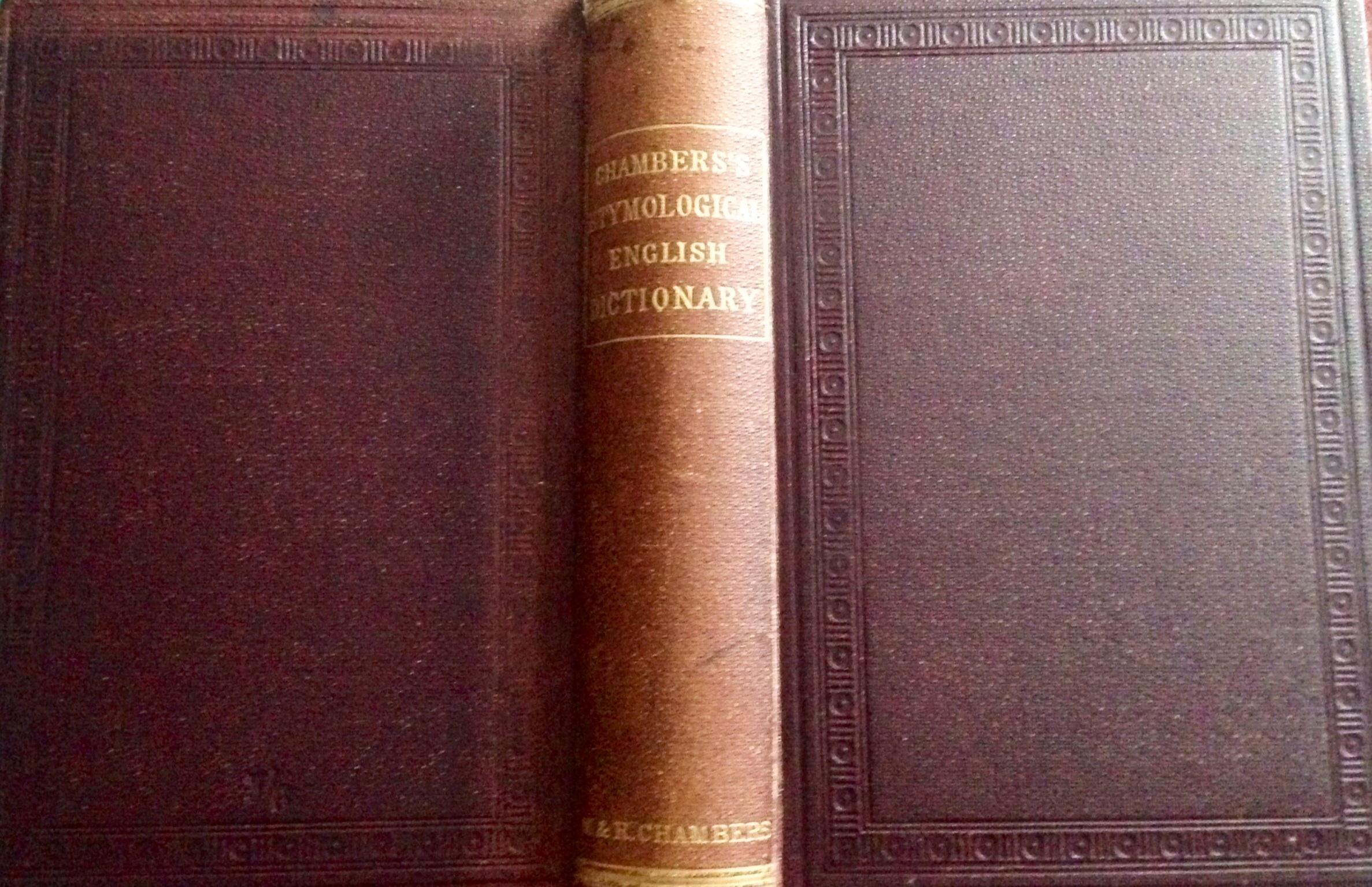Chambers's Etymologi...