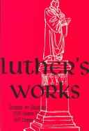 Luther's Works, Volume 27
