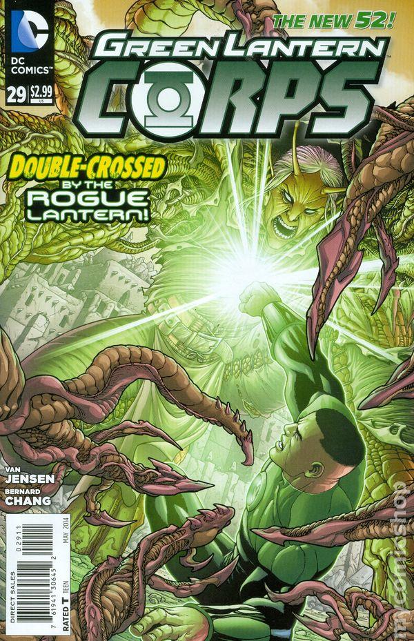Green Lantern Corps Vol.3 #29