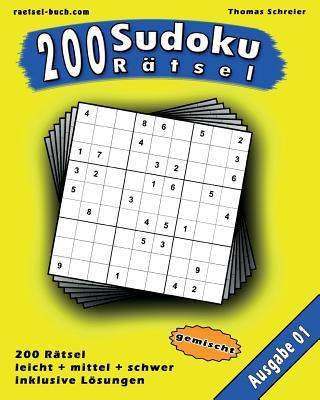 200 Gemischte Zahlen-sudoku 01