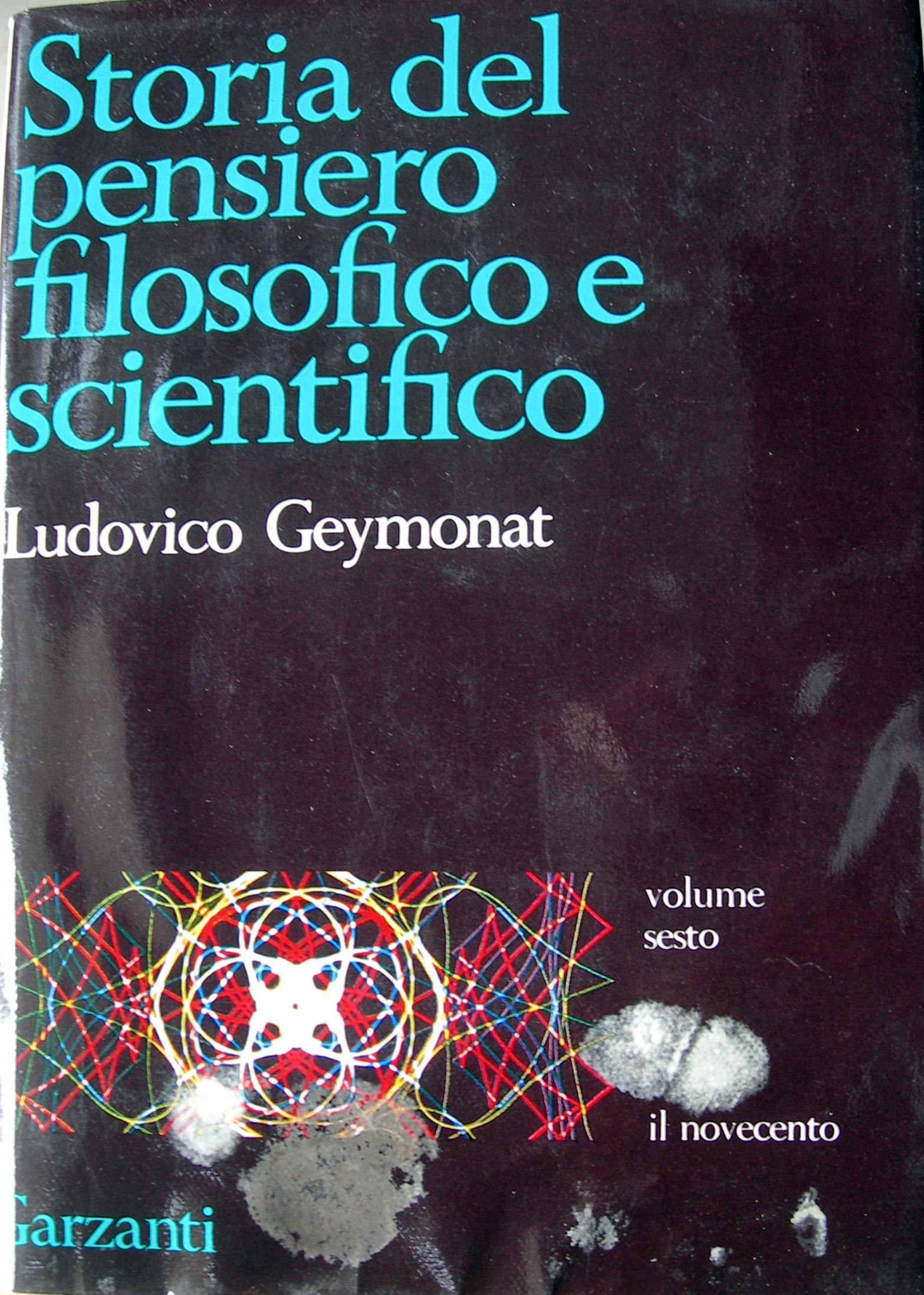 Storia del pensiero filosofico e scientifico - 6