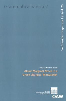 Alanic Marginal Notes in a Greek Liturgical Manuscript