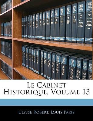 Le Cabinet Historiqu...