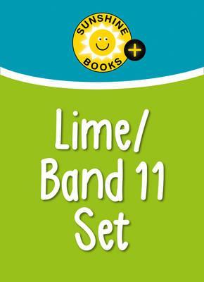 Sunshine Books + – Lime Set