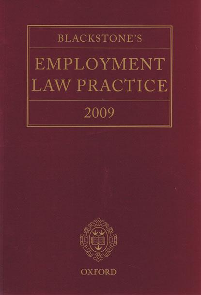 Blackstone's Employment Law Practice 2009
