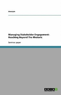 Managing Stakeholder Engagement