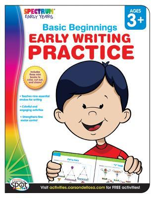 Early Writing Practice, Grades Preschool - K