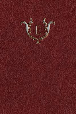 """Monogram """"E"""" Journal"""