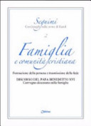 Famiglia e comunità cristiana