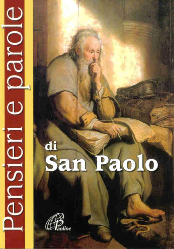 Pensieri e parole di san Paolo