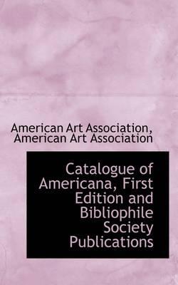 Catalogue of America...