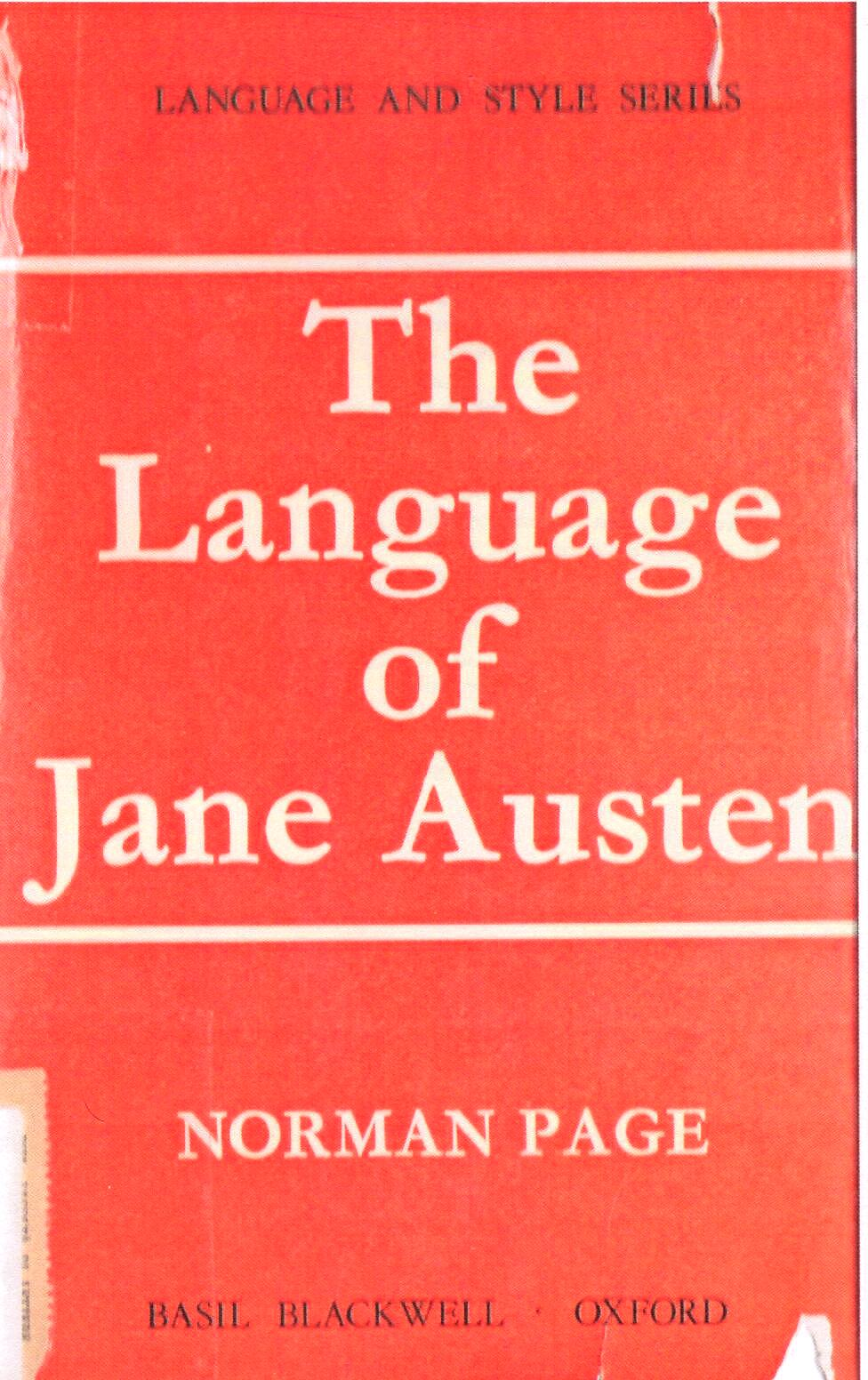 The language of Jane...