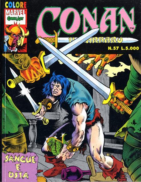 Conan il Barbaro Colore n. 57