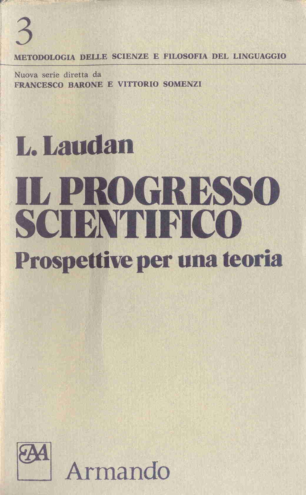 Il progresso scientifico