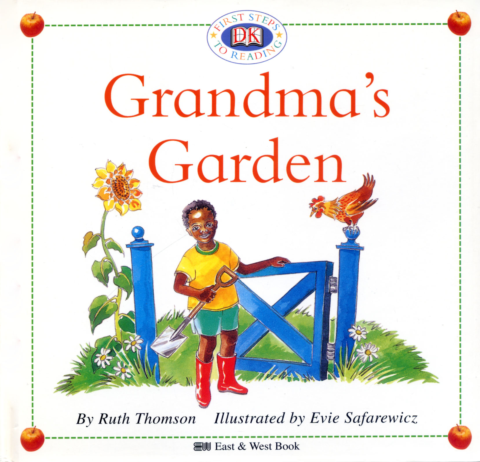 兒童英語啟蒙閱讀讀本: Grandma's Garden