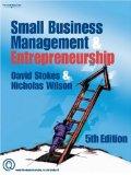 Small Businesss Management And Entrepreneurship