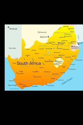 Map of South Africa ...