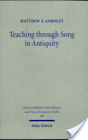Teaching Through Song in Antiquity