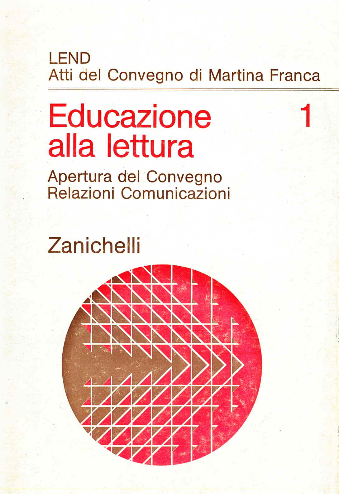 Educazione alla lettura 1